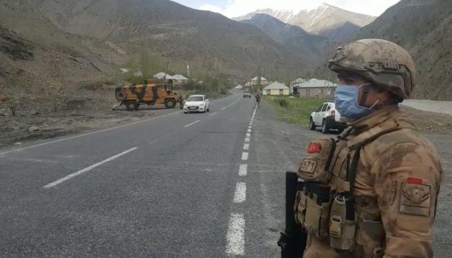 Karantinaya alınan köylerde güvenlik önlemleri arttırıldı