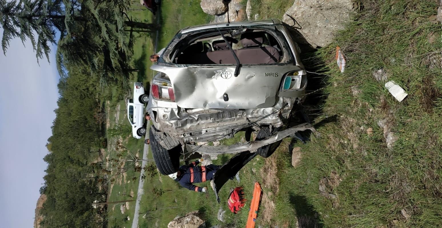 Malatya'da otomobil takla attı: 1 ağır yaralı