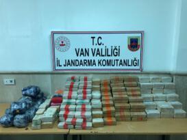 Van'da 216 kilo uyuşturucu ele geçirildi
