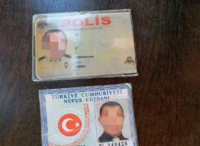 Malatya'da sahte polis gerçek polislere yakalandı