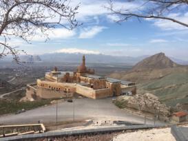 Tarihi İshak Paşa Sarayı yıllar sonra sessizliğe büründü