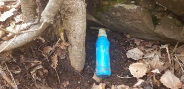 Bitlis'te toprağa gömülü el bombası ele geçirildi