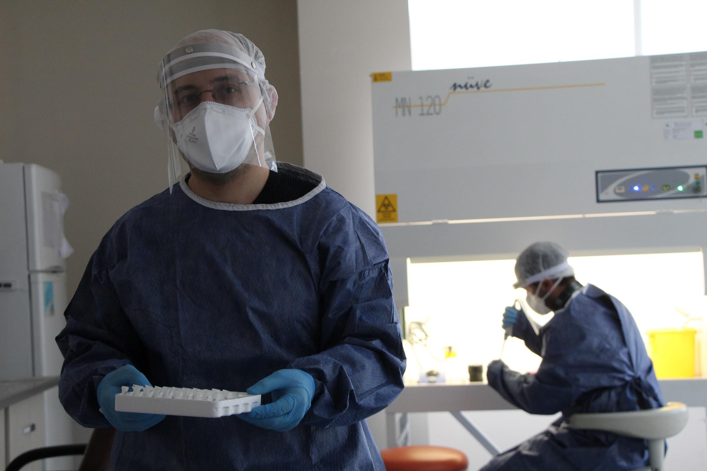 Bingöl'e Covid-19 test Laboratuvarı kuruldu, testler yapılmaya başlandı