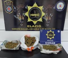 Esrarla yakalanan 2 şüpheli, 6 bin TL'de Korona cezası yedi