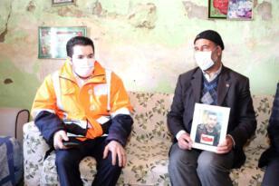Başkan Sayan, oğlu asker çağındayken PKK lılar tarafından kaçırılan babayı Bakan soylu ile…