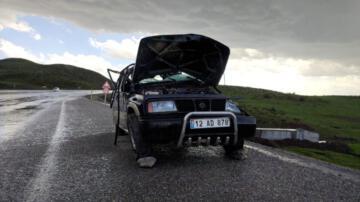 Bingöl de 2 ayrı kaza: 1 ölü, 6 yaralı