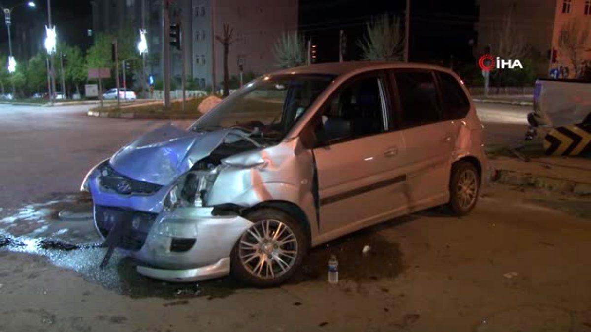 Elazığ da trafik kazası: 2 yaralı