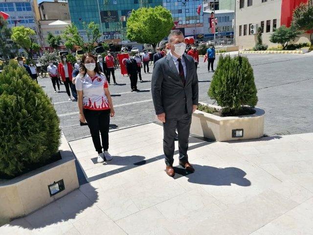 Iğdır da 19 Mayıs Atatürk ü Anma, Gençlik ve Spor Bayramı kutlandı
