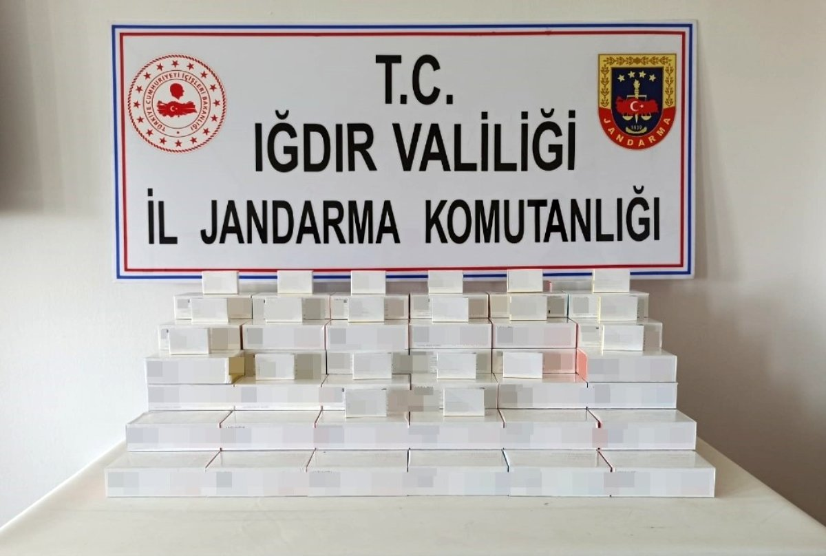 Iğdır da Nisan ayında 383 bin TL değerinde kaçak sigara tütünü ele geçirildi