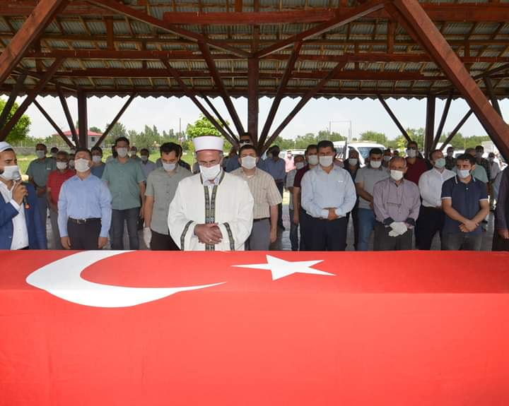 Kıbrıs Gazisi İhsan Malk son yolculuğuna uğurlandı