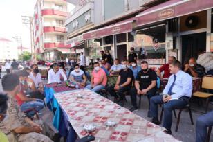 Vali Sarıibrahim, vatandaşlarla bayramlaştı