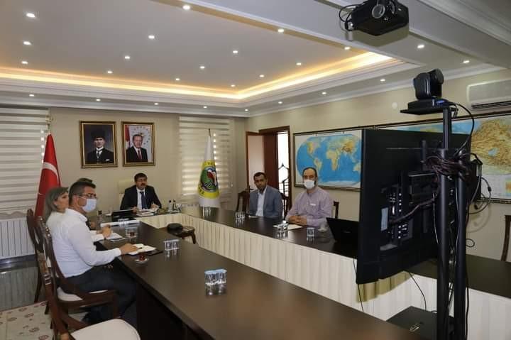 Iğdır Atık Su Arıtma Tesisi projesinin başlangıç toplantısı yapıldı