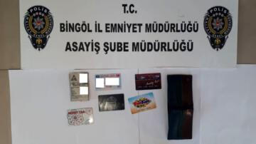 Bingöl de hırsızlık şüphelisi 5 şahıs tutuklandı