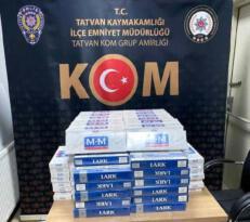 2 bin 80 paket kaçak sigara ele geçirildi