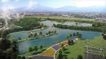 'Iğdır Millet Bahçesi Projesi' göz dolduruyor