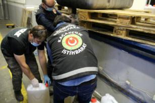 Dilucu Gümrük Kapısında 260 kilogram uyuşturucu madde ele geçirildi