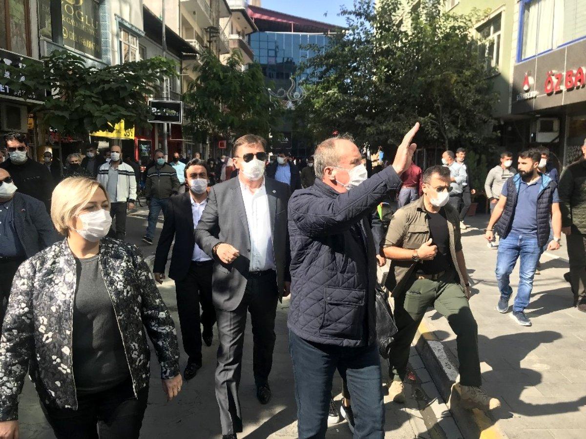 """Muharrem İnce:""""Bu CHP yönetimine de güvenmiyorum"""