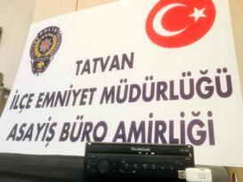 Son dakika haberi: Tatvan da hırsızlık: 1 gözaltı