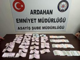 Virüs salgınına rağmen kumar masası kuran 9 kişiye 28 bin 350 lira ceza