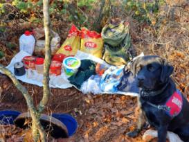Bingöl de bölücü terör örgütüne ait malzemeler ele geçirildi