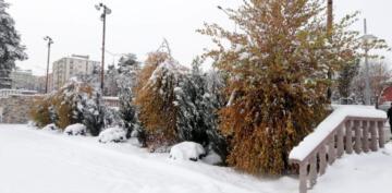 Erzurum kar a teslim