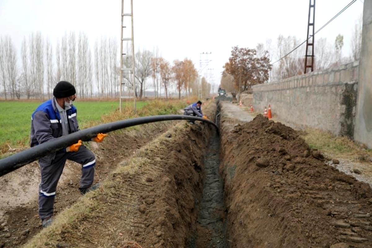 İçme suyu sorunu çözülüyor
