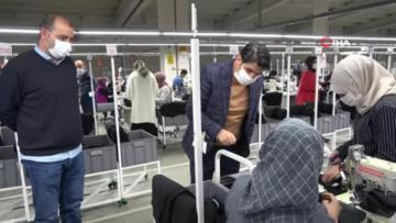 Tekstilkent pandemi döneminde istihdam sağlamaya devam ediyor