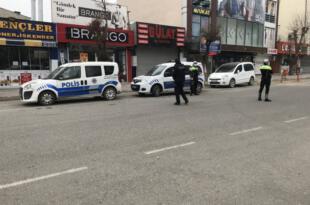 Iğdır'da sokağa çıkma kısıtlamasında denetimler devam ediyor
