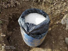 Bitlis'te tuzaklanmaya hazır 100 kilo Amonyum Nitrat ele geçirildi