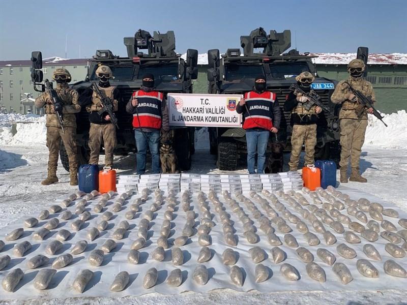 İran'dan getirilen 99 kilo eroin yakalandı