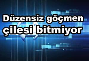 Bitlis'te 8 düzensiz göçmen yakalandı