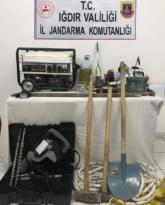 Iğdır'da sit alanında kazı: 6 kişi yakalandı