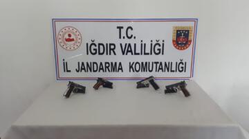 Iğdır'da silah kaçakçılığı: 2 tutuklama