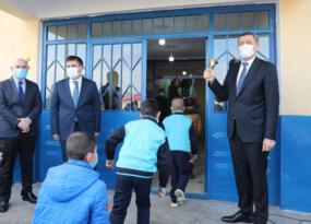 MEB. Bakanı Ziya Selçuk Aralık İlçemize Bağlı Gödekli Köyü'nde 2020-2021 Eğitim Öğretim Yılının İkinci Yarıyıl Açılış Törenine Katıldı