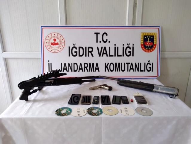 Iğdır'da terör örgütünün propagandasını yapan 3 kişi gözaltına alındı