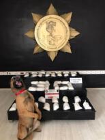 Hakkari'de 21 kilo 400 gram metamfetamin ele geçirildi