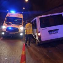 Van-Bitlis tünelinde kaza: 2 yaralı