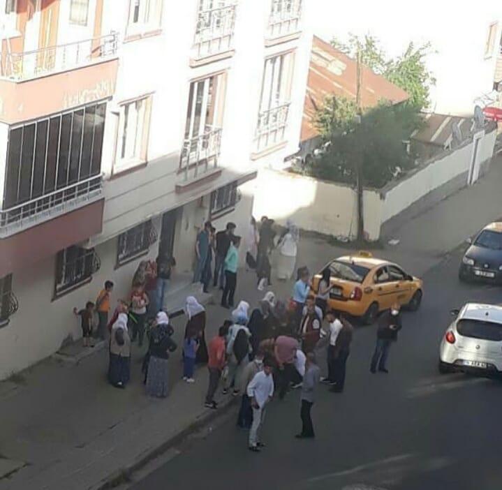 Ticari taksi çarpan çocuk hastaneye kaldırıldı