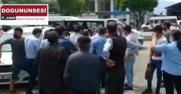 Iğdır'da zabıta ile seyyar satıcılar arasında gerginlik