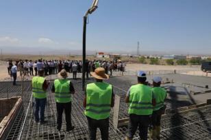 Iğdır'da kaya tuzu rafine tesisin temeli atıldı